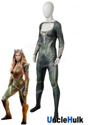 Mera 2019 Movie Aquawoman Zentai Cosplay Costume | UncleHulk