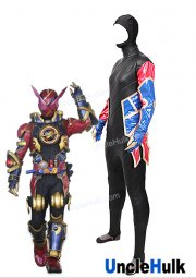 Kamen Rider Evol Rabbit Form Zentai Suit -Rubberized Fabric and PU Leather - Masked Rider | UncleHulk