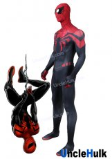 Superior SpiderMan Lycra Zentai Cosplay Costume - including Lenses - SP528 | Unclehulk