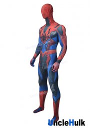 Biochemistry Spiderman Lycra Zentai Bodysuit Halloween Cosplay Costume - without lenses | UncleHulk
