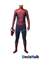 Hood Detachable TASM2 Amazing Spiderman 2 Lycra Zentai Bodysuit - SP2206 | UncleHulk