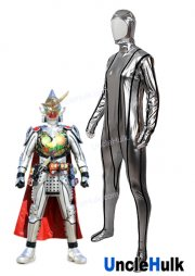 Kamen Rider Gaim Kiwami Arms Cosplay Costume Bodysuit - Bright Rubberized Fabric | UncleHulk