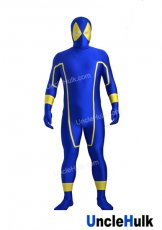 Blue Deadpool Lycra Zentai Costume