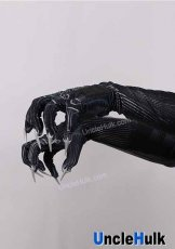 Black Panther Gloves with Rubber Claws - movie Captain America Civil War | UncleHulk