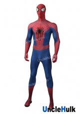 TASM2 The Amazing Spiderman 2 with Bulgy Line Lycra Zentai Halloween Cosplay Costume - hand drawing bulgy line | UncleHulk