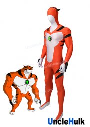 Ben 10 Ultimate Alien Rath Force Lycra Spandex Zentai Costume Cosplay Bodysuit | UncleHulk