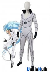 Grimmjow Jeagerjaques BLEACH Espada Cosplay Costume - with tails and slight muscle | UncleHulk