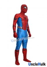 Silk Screen Spiderman Homecoming Set Lycra Zentai Bodysuit