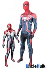 Marvel's Spider-Man PS4 Game Lycra Zentai Bodysuit Halloween Cosplay Costume | UncleHulk