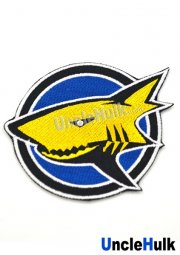 Hyakujuu Sentai Gaoranger Surging Shark Sew on Embroidered Patch