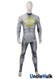 Mighty Morphin Rangers White Tommy Spandex Zentai Suit Halloween Cosplay Costume | UncleHulk