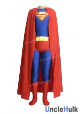 Superman Nylon Zentai Costume 11 (include cloak)
