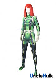 Shinny Green Spandex Lycra Cosplay Costume | UncleHulk