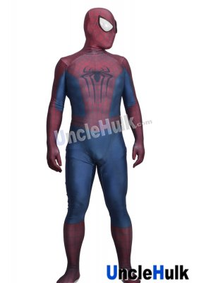 The Amazing Spider-man 2 TASM2 Spiderman Cosplay Costume Lycra Zentai Bodysuit - SP2203 | UncleHulk