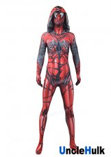 Venom Gwen GwenSpiderman High Quality Lycra Zentai Bodysuit -include lenses | UncleHulk