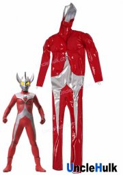 Ultraman Taro Costume - Red Polyurethane Fabric and Silk Floss Muscle - with gloves | UncleHulk