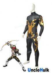 Masked Rider Chalice Rubberized Fabric Cosplay Costume | UncleHulk