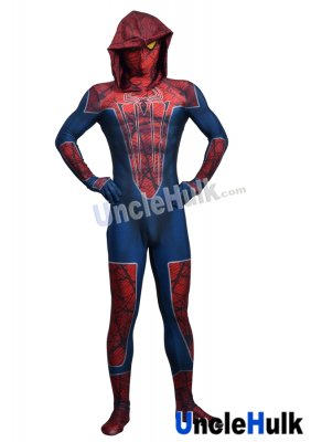 Hatted Spiderman Lycra Zentai Bodysuit