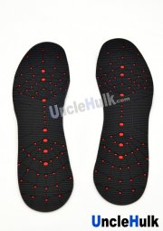 Spiderman Rubber Soles with Shoes Inside (the Amazing Spiderman 2)