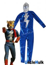 Tetsujin Tiger Seven Bright Rubberized Fabric Bodysuit Costume | UncleHulk