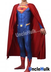 Superman Zentai Costume 6 (include cloak and Kungfu shoes soles)
