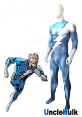 High Quality Marvel Pietro Maximoff QuickSilver Spandex Lycra Cosplay Costume | UncleHulk