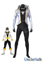Kaizouku Sentai Gokaiger White Soldier Fancy Costume