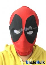 Deadpool Hood with Rubber Eyes