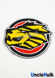 Hyakujuu Sentai Gaoranger Blazing Lion Sew on Embroidered Patch