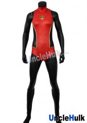 Nightwing Girl Costume | Red Spandex Lycra Costume (sleeveless)