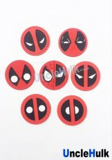 Deadpool Rubber Symbol Set (all 7 styles)