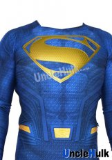 Superman Rubber Logo on Chest