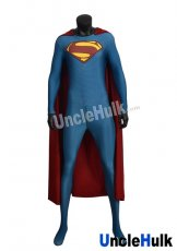 Superman Zentai Costume 4 (inclued cloak)