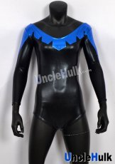 Nightwing Girl blue black zentai costume