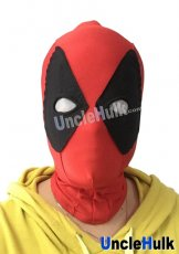 Deadpool Hood with Fan-shaped Lycra Eyes