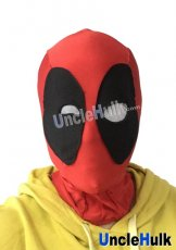 Deadpool Hood with Different Size Eyes