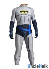 Grey Batman Lycra Zentai Costume