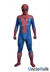 The Amazing Spiderman 1 Lycra Zentai Bodysuit (include lenses)