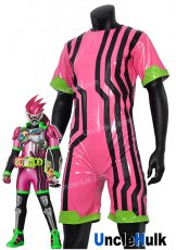 Kamen Rider Ex-Aid Costume - pink background and black stripes | UncleHulk