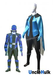 "Lupin Blue from sentai series ""Kaitou Sentai Lupinranger VS Keisatsu Sentai Patranger"" - suit and cloak 