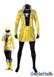 Kaizouku Sentai Gokaiger Yellow Soldier Fancy Costume