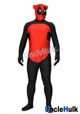 Panda Deadpool Lycra Zentai Bodysuit Cosplay Costume | UncleHulk