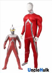 Ultraman Seven Cosplay Costume - Rubberize Fabric and Silk Floss Muscle | UncleHulk
