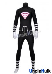 Alya Cesaire Lady Wifi Black and White Spandex Lycra Bodysuit style 2 | Miraculous Ladybug