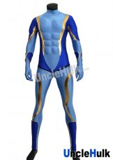 Star Platinum Muscle Zentai Costume - with sponge muscle