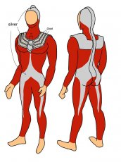 Ultraman Taro Rubberized Fabric Customization | UncleHulk
