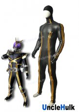 Masked Rider Kaixa Diving-Suit Fabric Undercoat Kamen Rider Kaixa Cosplay Costume | UncleHulk