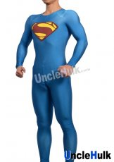 Superman Zentai Costume 7 (include cloak)