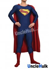 Superman Zentai Costume 10 (include cloak and Kungfu shoes soles)