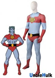 Captain Planet Superhero Spandex Zentai Lycra Cosplay Costume Halloween Costume | UncleHulk